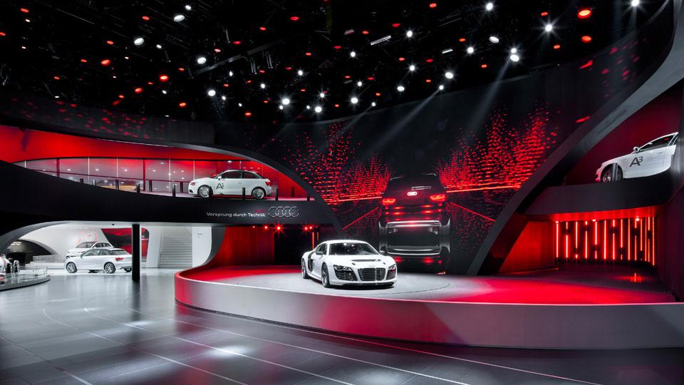 Audi Messestand