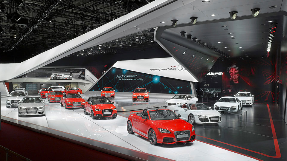 Audi Messestand Bild 4
